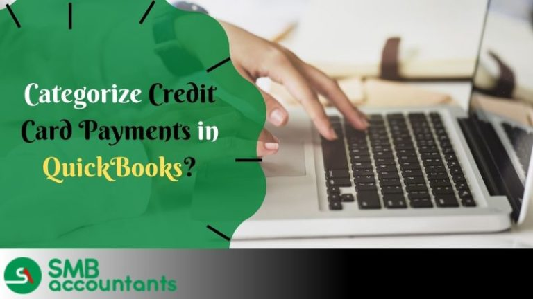 How to Categorize Credit Card Payments in QuickBooks 1