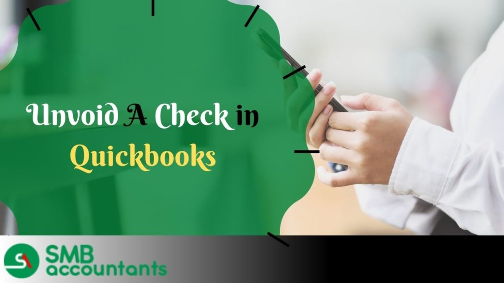 How to unvoid a check in quickbooks desktop online