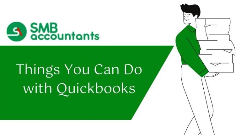 things You can do with quickbooks
